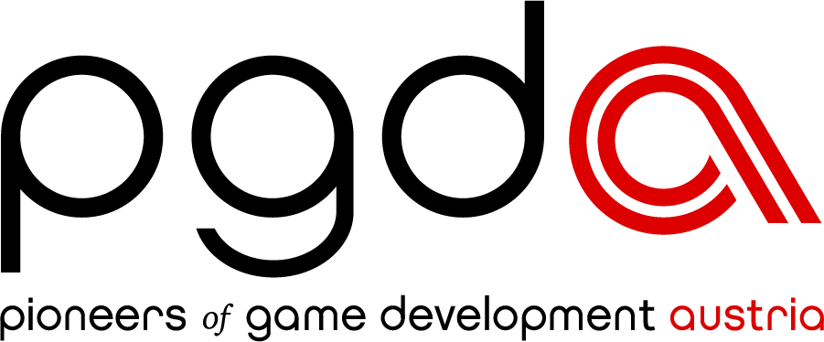 logo pioneers of game development austria